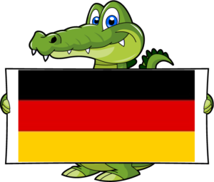 Happy Gator Deutsch
